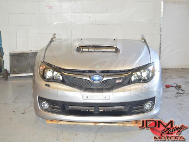 JDM Subaru STi GR Version 10 Front Cut (Hood, fenders, headlights, grill, bumper, rad, rad support)