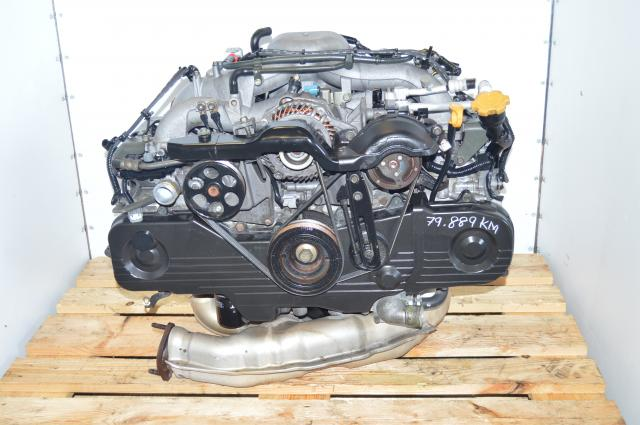 JDM Subaru NA SOHC Impreza 2004 EJ203, EJ202, EJ201 2.0L Engine Long Block Replacement for EJ253 2.5L