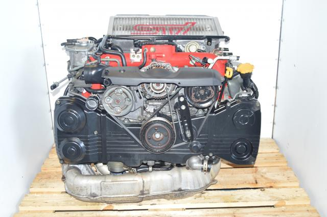Version 9 JDM STi 2002-2007 IHI Twin Scroll Turbocharged EJ207 2.0L DOHC AVCS Engine Swap