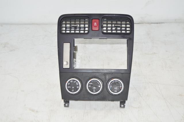 Forester SG9 Interior Center Dash JDM Climate Control with Extra Cupholder