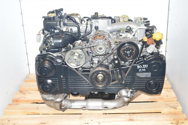AVCS JDM Subaru WRX 2002-2005 EJ205 TD04 Turbocharged 2.0L DOHC Engine Swap For Sale