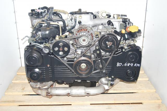 Subaru 2002-2005 JDM WRX EJ205 TD04 Turbocharged 2.0L AVCS Engine For Sale