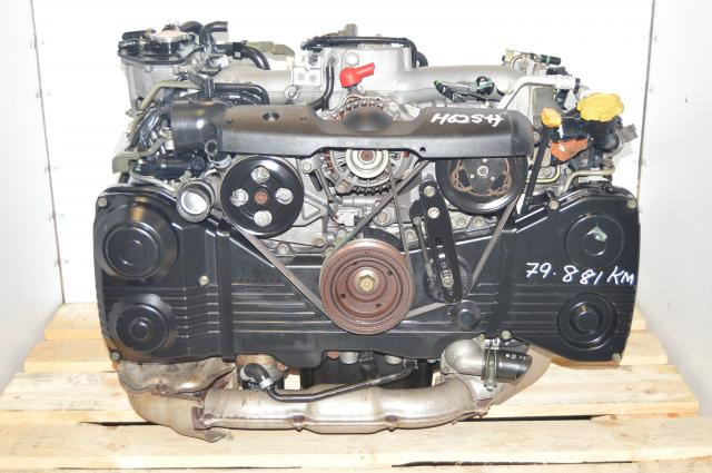 2002-2005 AVCS JDM TD04 Turbocharged WRX 2.0L DOHC Engine Swap