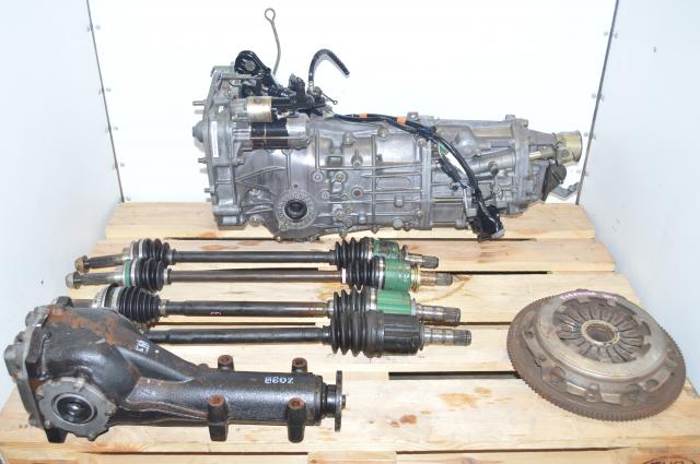 JDM Subaru WRX 2.0L 5-Speed Manual 4.444 Transmission with LSD Rear Differential