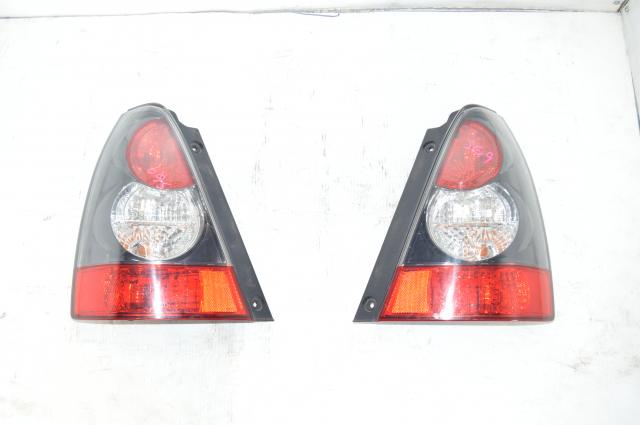 Genuine Subaru JDM Forester Sports STi SG9 Black Tail Lights