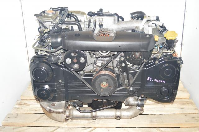 JDM Subaru WRX 2002-2005 TGV Delete AVCS EJ205 2.0L DOHC Engine with TF035 Turbo