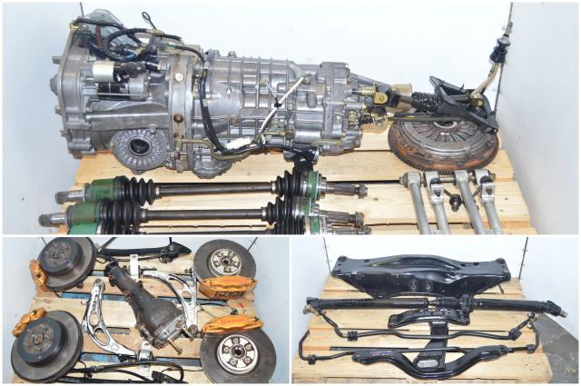Forester JDM STi 2002-2007 6-Speed TY856WL4CC Complete Transmission Non-DCCD Package For Sale