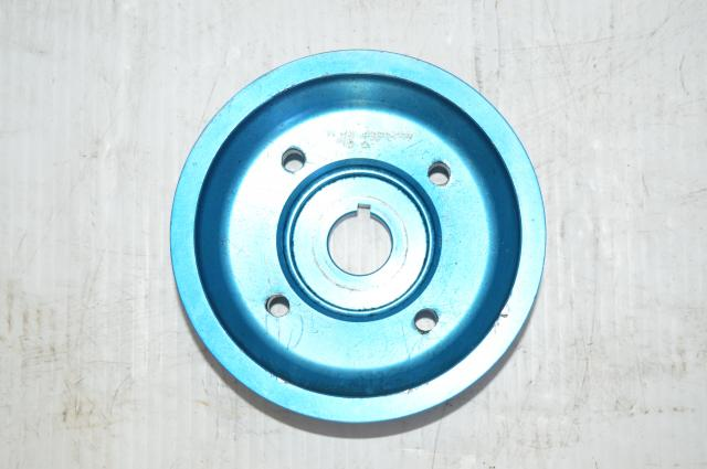 Zero Sports Blue WRC Light Weight Crank Pulley 1.4lbs