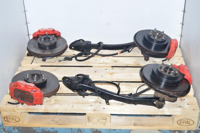 JDM Subaru GD Impreza WRX 2002-2005 Front & Rear 4 Pot / 2 Pot Brake Kit