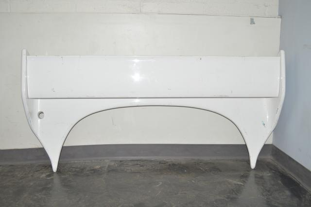 JDM R33 GTR Rear Trunk Wing Spoiler in White