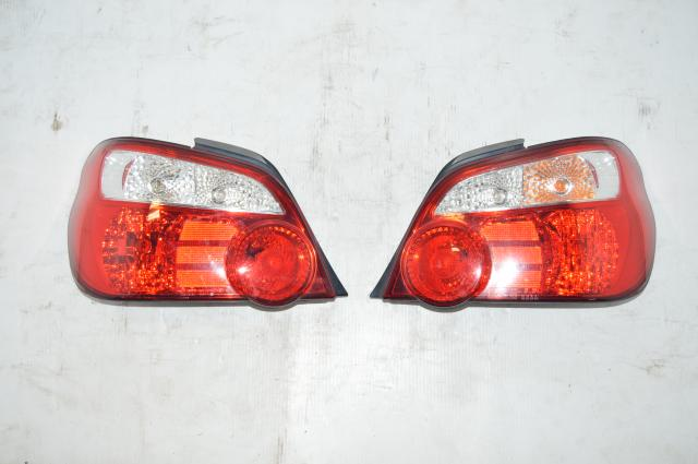 Subaru Version 8 JDM Tail Lights For 2004-2007 WRX STi