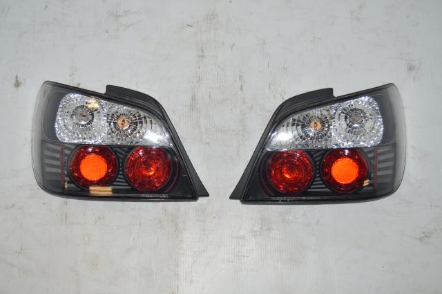Subaru V7 JDM Aftermarket Tail Lights for 2002-2003 WRX STi