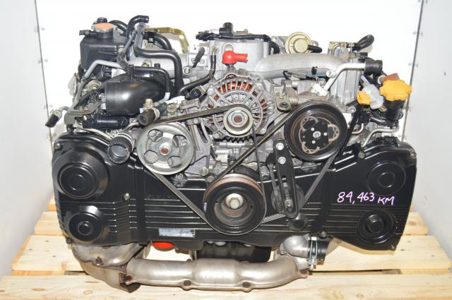 EJ205 Engine 2002-2005 WRX 2.0L DOHC TD04 Turbocharged Engine Swap