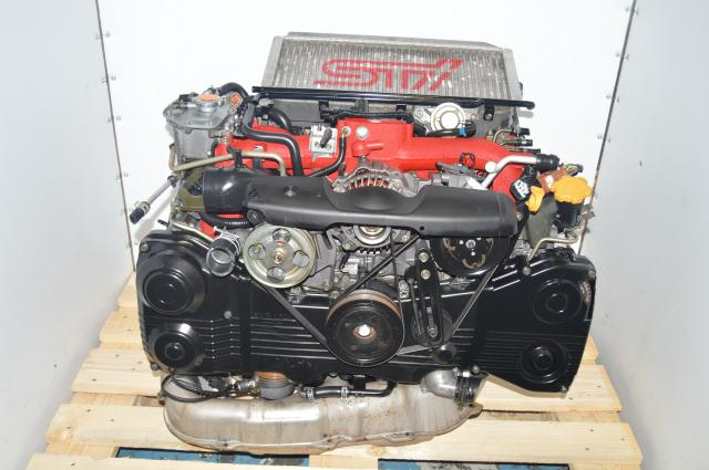 JDM Version 8 STi EJ207 Subaru 2002-2007 IHI Turbocharged Motor AVCS Swap