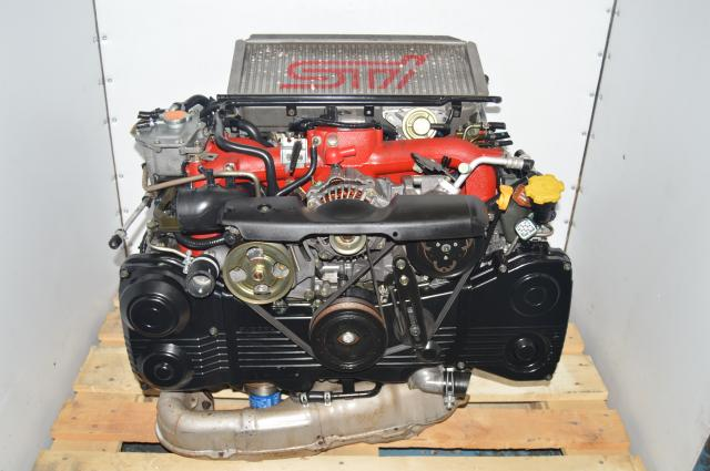 JDM Subaru 2002-2007 Version 8 EJ207 STi Turbocharged IHI Engine Swap For Sale