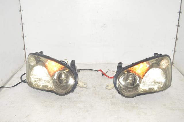 Subaru JDM STi V8 Clear HID Headlights w/Ballasts