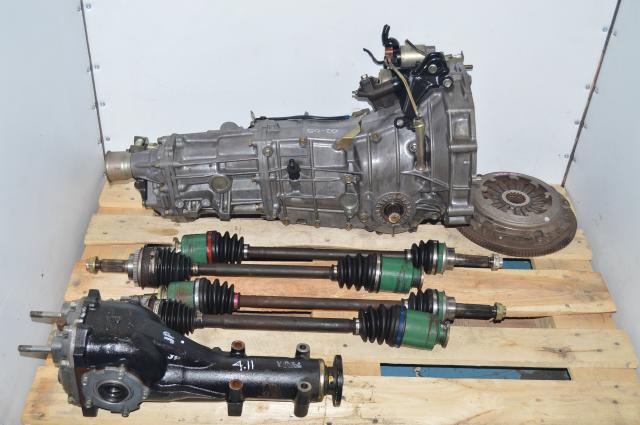 JDM Subaru WRX 2002-2005 4.11 Transmission Swap For Sale with Axles & Rear DIfferential