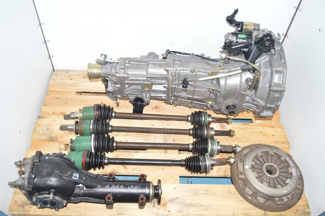 Subaru 2.0L WRX Impreza 5MT JDM 4.444 Swap with Axles, Rear LSD Differential & Flywheel For Sale