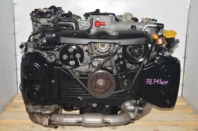 2002-2005 DOHC EJ205 TD04 Turbocharged AVCS DOHC Motor For Sale