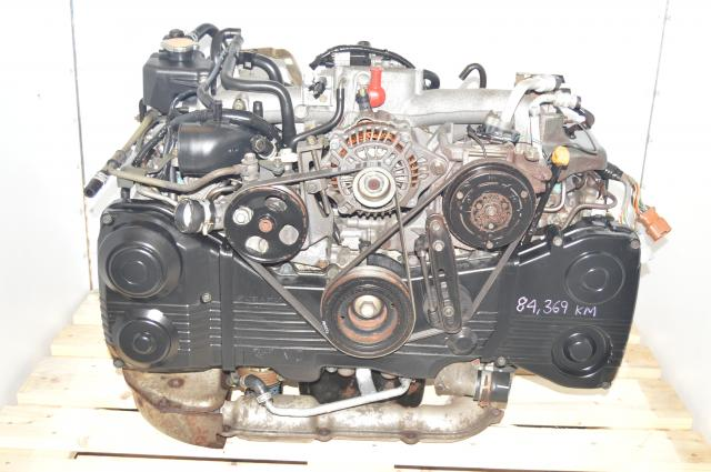 JDM Subaru WRX 2002-2005 EJ20 Engine 2.0L TF035 Turbocharged AVCS Package for Sale