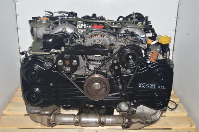 Twin Turbo JDM Subaru EJ206 / EJ208 DOHC Engine Subaru Legacy 1996-1998
