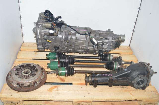 JDM Subaru WRX Impreza 2002-2005 5 Speed Manual Transmission with Axles & 4.11 LSD Differential
