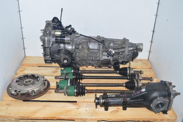 5 Speed WRX 2002-2005 Manual JDM Transmission Swap for Sale with 4.444 LSD Differential