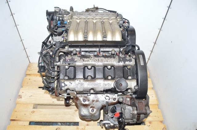 JDM 3000GT Stealth GTO v6 3.0L 6G72 Mitsubishi Non-Turbo Engine Swap for Sale