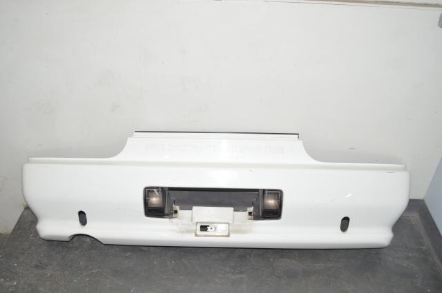 Nissan Skyline R32 GTR Rear Bumper in White