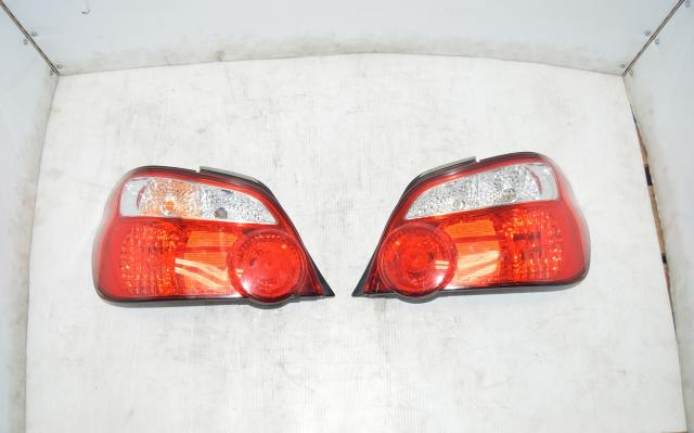 Subaru WRX STi Version 8 JDM Blobeye Red Tail Lights for 2004-2007