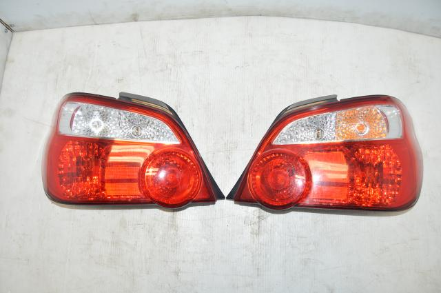 JDM Subaru WRX STi 2004-2007 V8/V9 Blobeye Tail Lights for GD Sedan