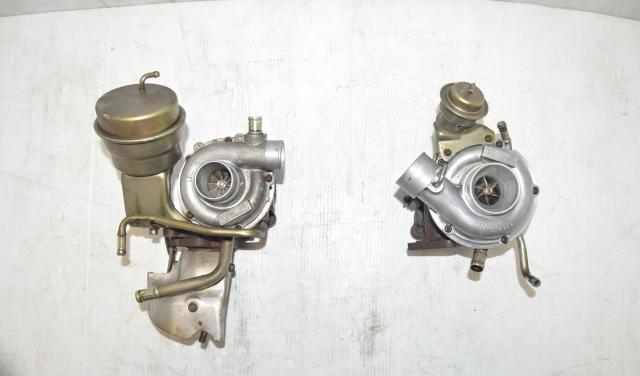 JDM Subaru Legacy B4 Rev D VF33 and VF32 Twin Turbos - Sample Pictures