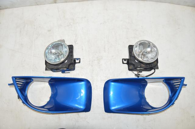 Subaru Version 8 2004-2005 WRX STI Fog Lights and Fog Light Covers