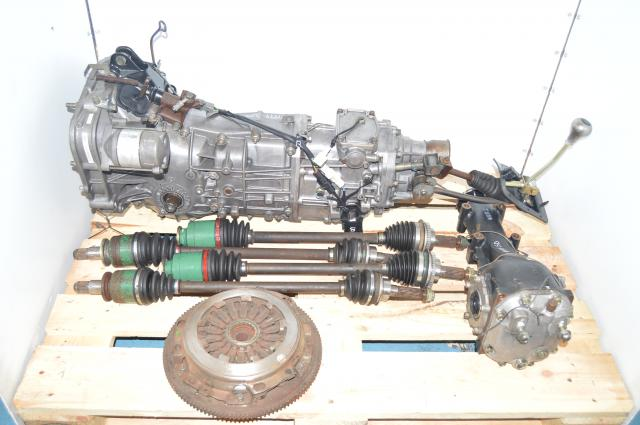 JDM Subaru Impreza WRX STI R & RA  Version 5-6 GC8 Type-RA DCCD 5 Speed Transmission R160 4.444 matching V-LSD Diff MY99-00
