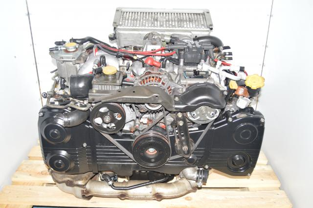 JDM Subaru Impreza GC8 STi Type RA 1998-2001 EJ207 Version 5 / 6 2.0L Engine Swap VF28 Turbo