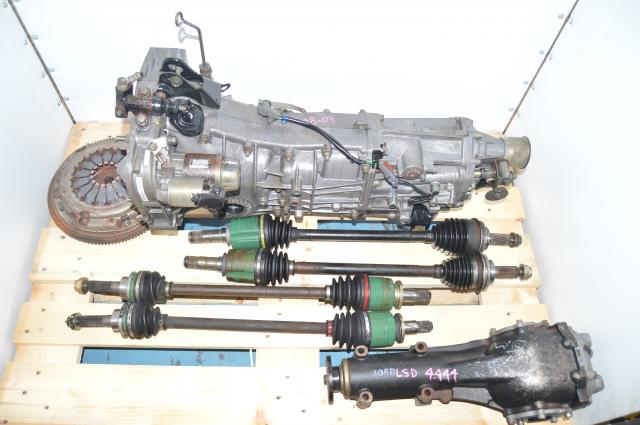 Used Subaru WRX , Legacy GT Spec B, Push Type 2008-2011 5 Speed Transmission & 4.444 Rear Diff For Sale