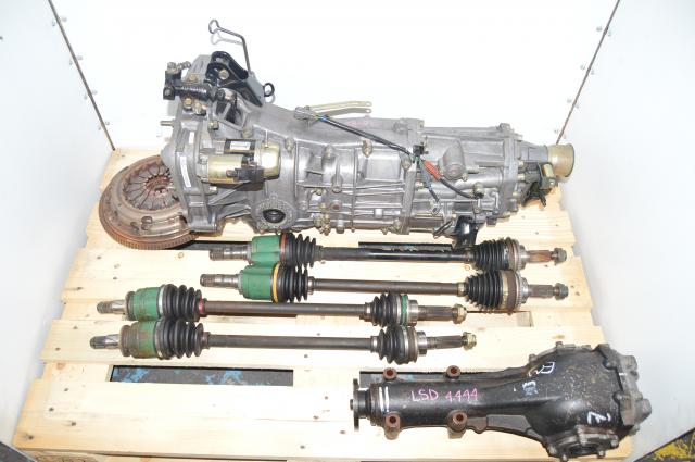 Used Subaru Impreza WRX (2008-2011) , Legacy GT Spec B (04-06), Push Type  5 Speed Transmission & 4.444 Rear Diff For Sale