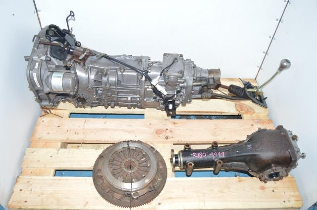 JDM STi GC8 Type-RA Version 5-6 5 Speed DCCD Transmission 4.444 LSD Rear Matching 1999-2000