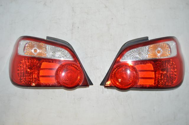 Subaru WRX STI Version 8 Red Tail Lights for GD 2004-2007