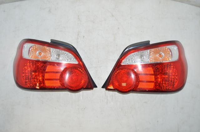 JDM Version 8 STi GD Red Tail Lights for 2004-2007 Sedan