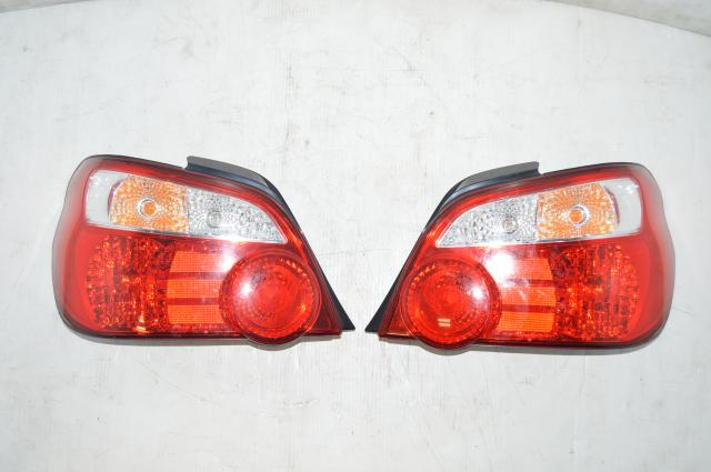 JDM V8 STI Tail Lights for 2004-2007 Subaru Impreza WRX STI Sedan