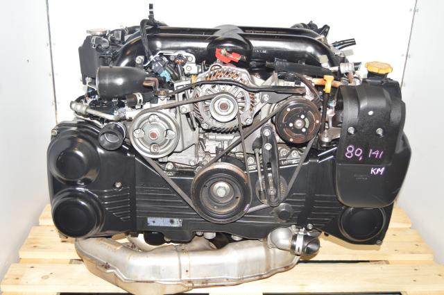 JDM Subaru EJ20Y DOHC Twin-Scroll Engine Swap with EGR, TD04 Twin Scroll Turbocharger (replacement for ej255 08-14 wrx, forester and legacy engines)