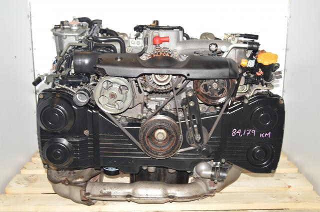 Used EJ205 AVCS Engine with TD04 turbo WRX 2.0L DOHC Replacement Engine Motor Swap