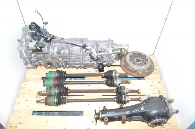 JDM Subaru WRX Impreza 2002-2005 5 Speed Manual Transmission with Axles &4.444 LSD Differential
