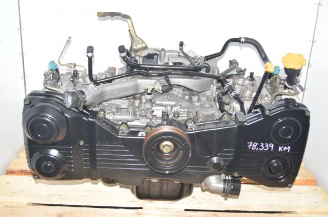 2.0L GDA GDB Quad Cam JDM Impreza WRX DOHC 2002-2005 Long Block Engine Swap AVCS Capable