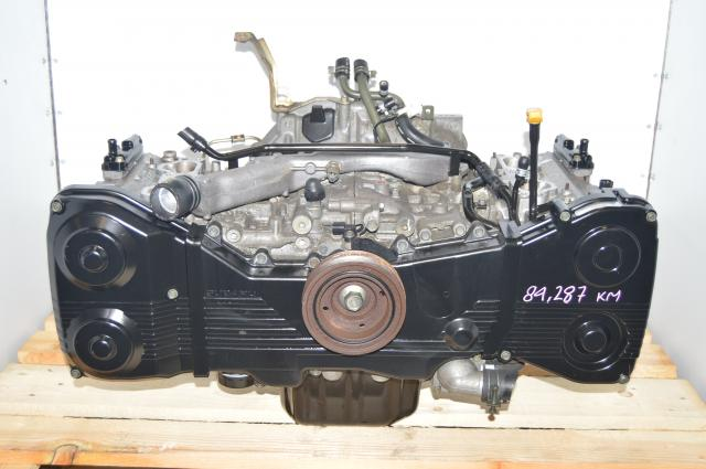 Used JDM Subaru WRX 2002-2005 Long Block EJ205 2.0L DOHC Engine