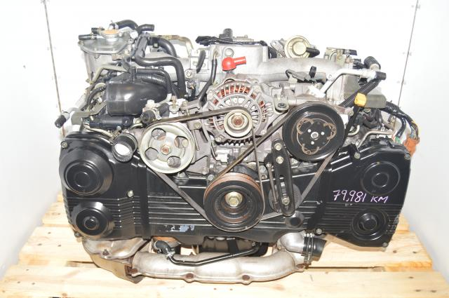 JDM Impreza WRX Subaru EJ205 TD04 Turbocharged 2.0L AVCS DOHC Motor Package For Sale