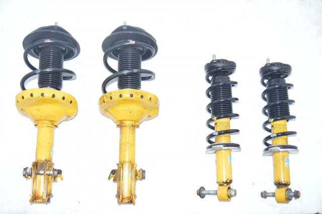 Yellow Bilstein JDM Suspension for Subaru Legacy GT and Outback XT Models
