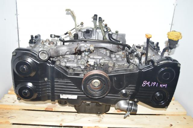 used JDM EJ205 WRX 2002-2005 2.0L Long Block DOHC Engine Swap Package