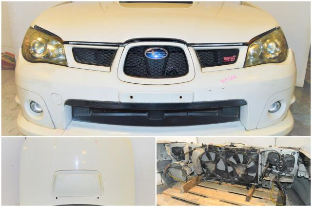 JDM WRX STi Version 9 Wagon Front End Conversion with Fenders, Hood, Headlights, Grille & Foglights